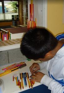 Schoolproject potloodkastelen