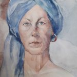 Zelfportret Galyna
